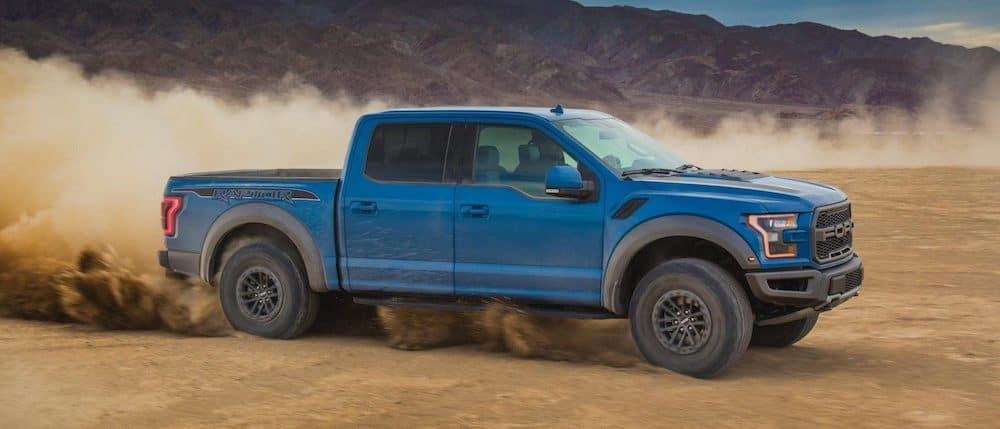 2019 Ford F-150 Raptor Off-Roading