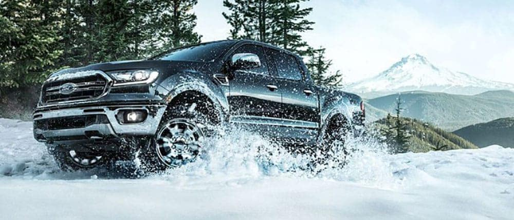 2019 Ford Ranger In Snow