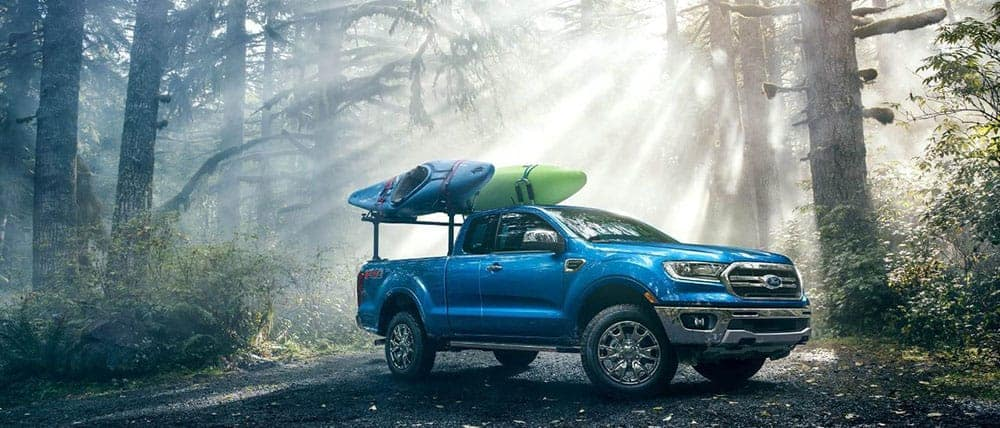 2019 Ford Ranger In The Forest