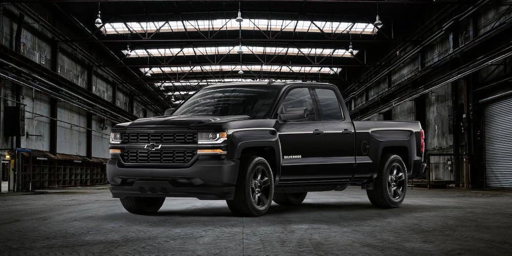 Chevy Silverado Black Out