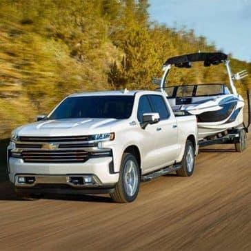 2019 Chevrolet Silverado with Trailer