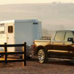 2019 Silverado with a trailer