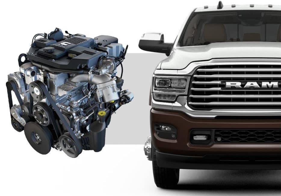 2019 Ram 3500 Diesel Engine