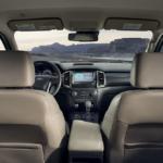 2019 Ford Ranger Lariat interior
