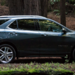 2020 Chevrolet Equinox in the woods