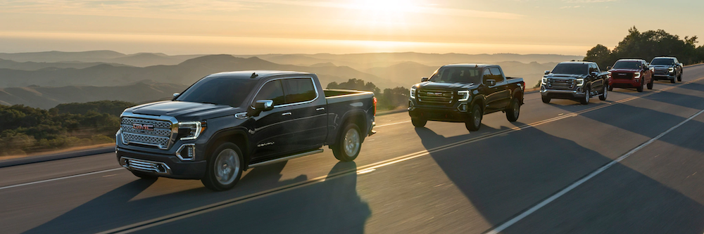 2020 GMC Sierra models