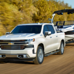2020 Silverado 1500 towing a boat