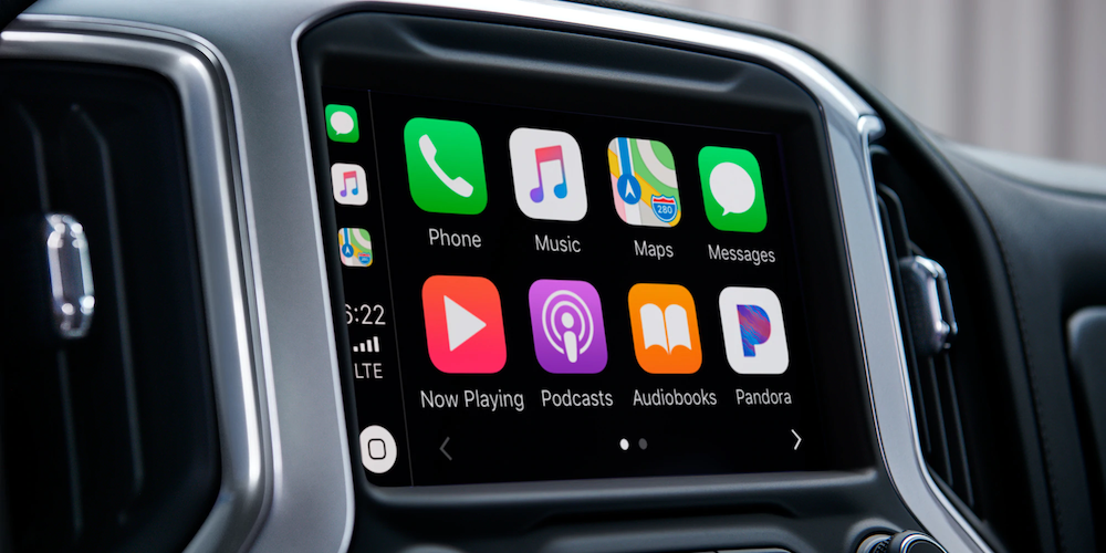 2020 Silverado Apple CarPlay