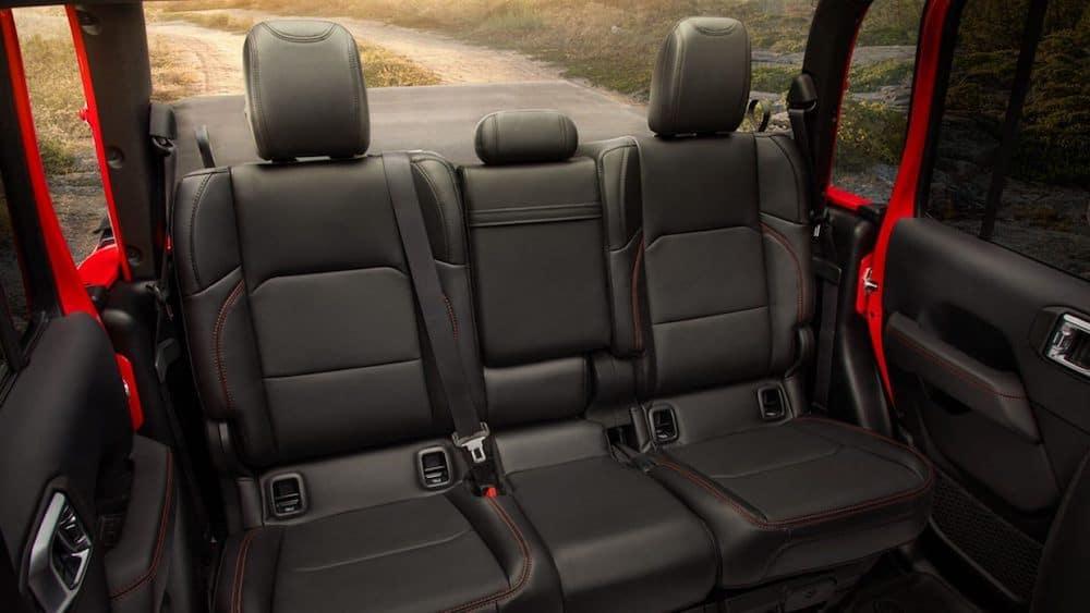2020 Gladiator back seat