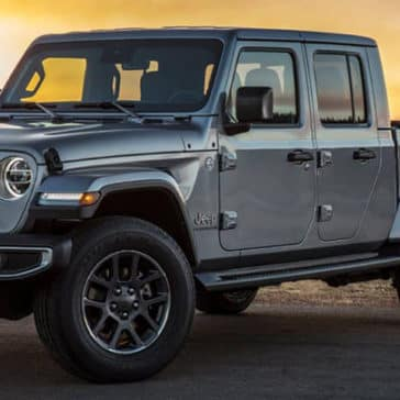 2020 Jeep Gladiator Parked