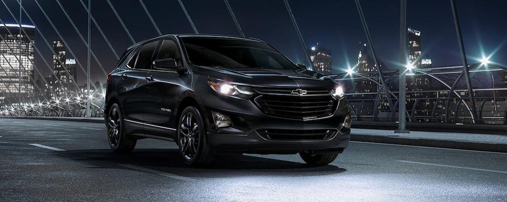 2020 Chevrolet Equinox driving at night
