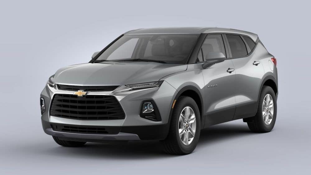 2020 Chevrolet Blazer - Silver Ice Metallic