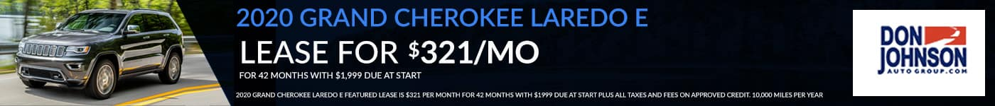Grand Cherokee Lease Special March