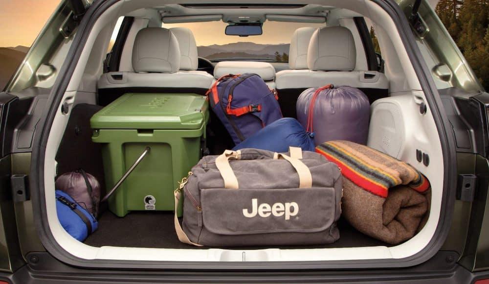 2020 Jeep Cherokee cargo area