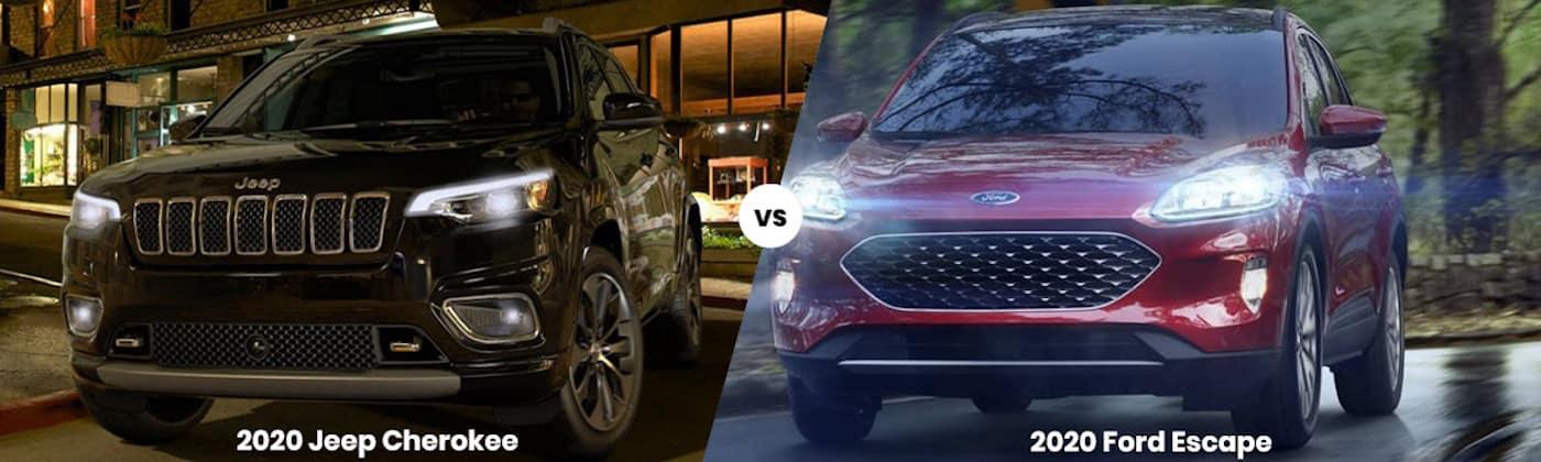2020 Jeep Cherokee vs. 2020 Ford Escape