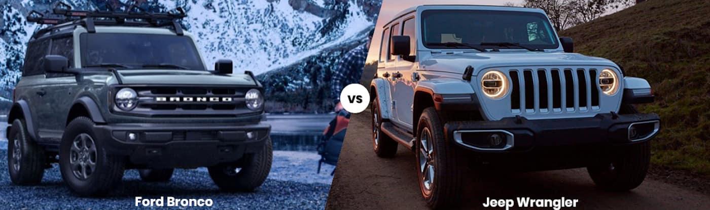 Ford Bronco vs Jeep Wrangler