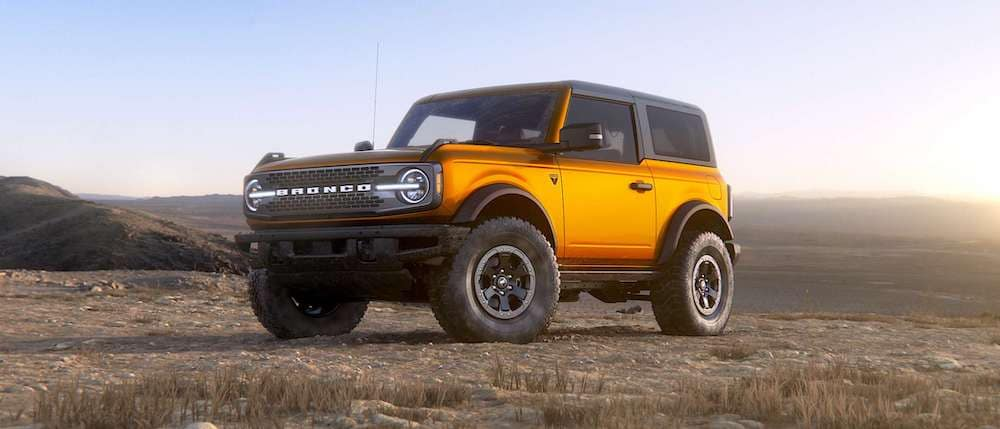 2021 Ford Bronco in Cyber Orange