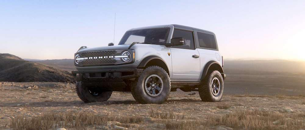2021 Ford Bronco in Oxford White