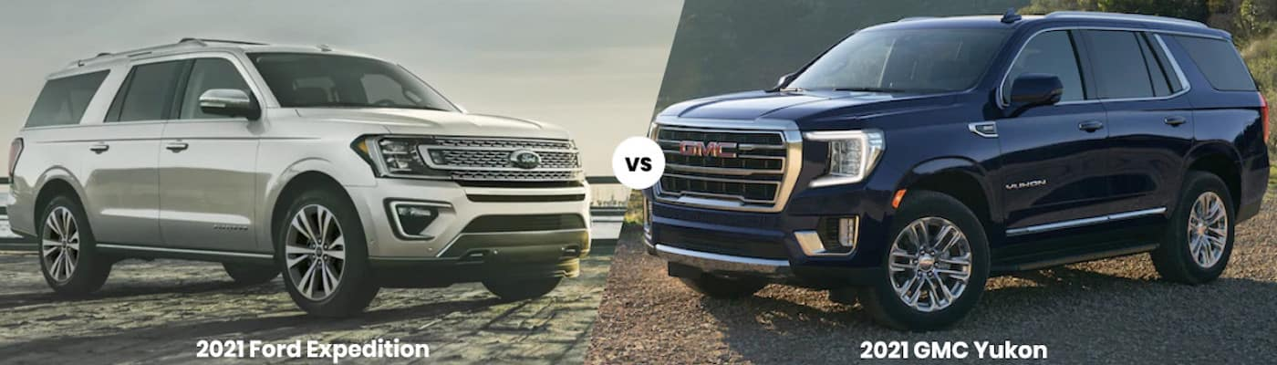 2021 Ford Expedition vs 2021 GMC Yukon