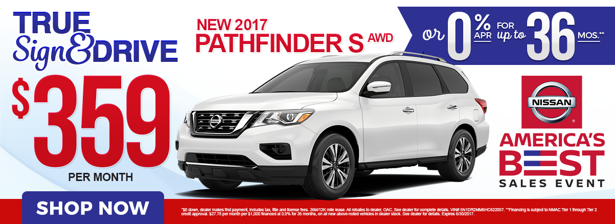 Nissan Rogue Lease Specials
