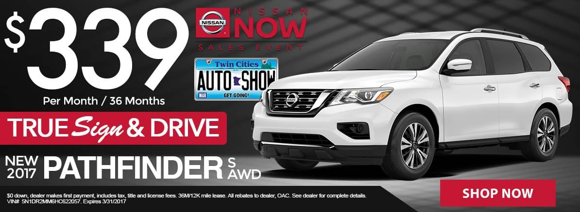 Nissan Sign & Drive Lease Specials MN Minneapolis
