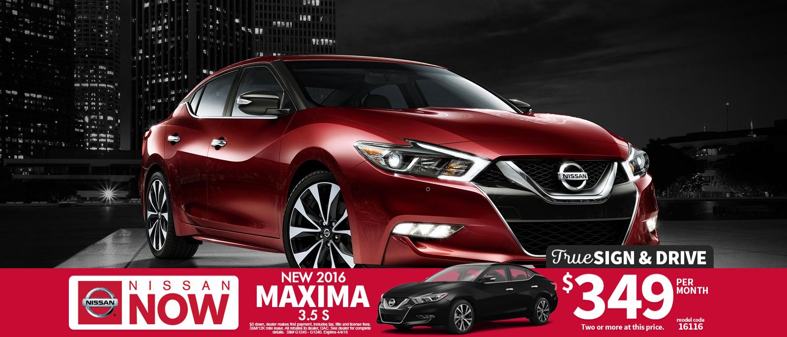 New 2016 Nissan Maxima Dealer Mn Minneapolis Mn Bloomington