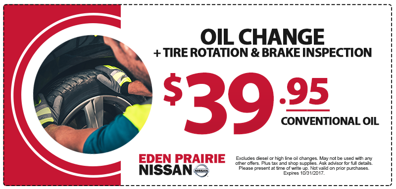 Nissan Oil Change Special
