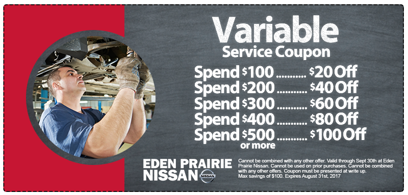 Nissan Variable Service Special