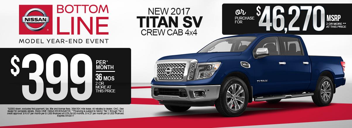 Nissan Titan Special