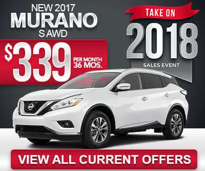 2017 Nissan Murano Lease Special