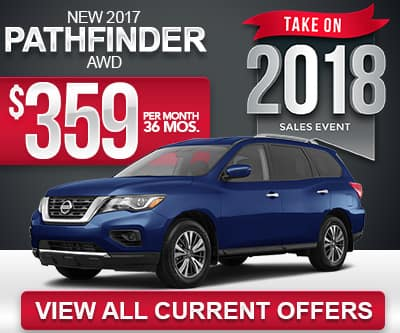 2017 Nissan Pathfinder Lease Special