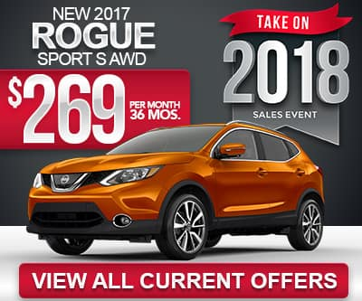 2017 Nissan Rogue Sport Lease Special