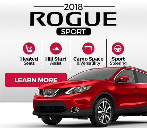 New Nissan Rogue Sport Overview