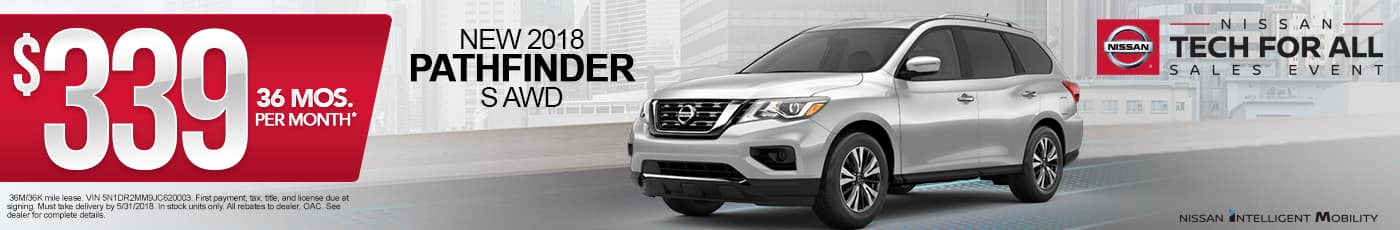 New Nissan Pathfinder Special
