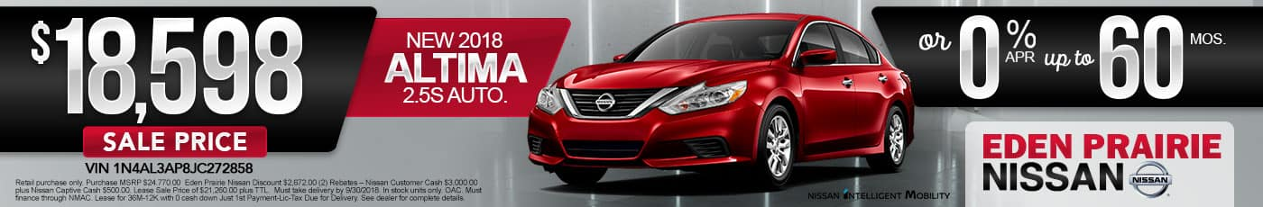 New Nissan Altima Special Offer