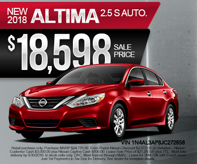 New Nissan Altima Special