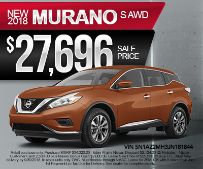 New Nissan Murano Special
