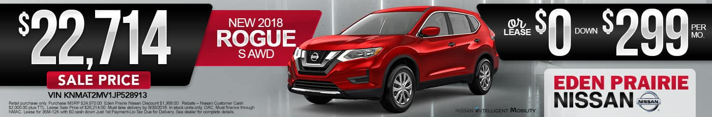 New Nissan Rogue Special Offer