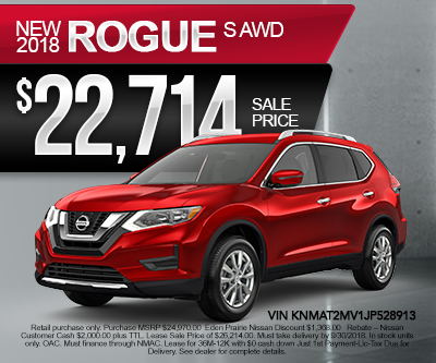 New Nissan Rogue Special