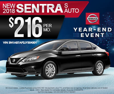 New Nissan Sentra Special