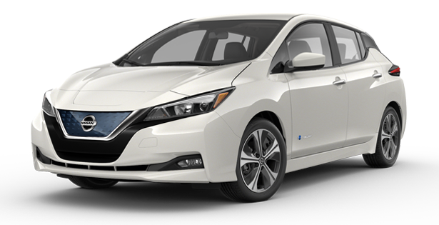 2019-Nissan-Leaf-SV-Plus-White