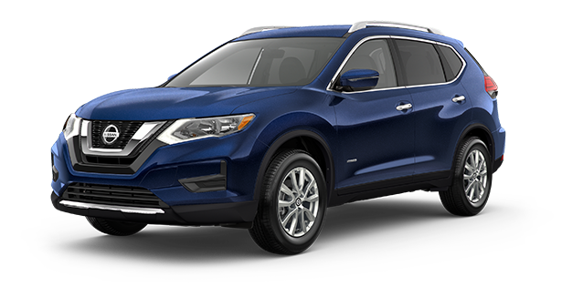 2019-Nissan-Rogue-Hybrid-SV-Blue