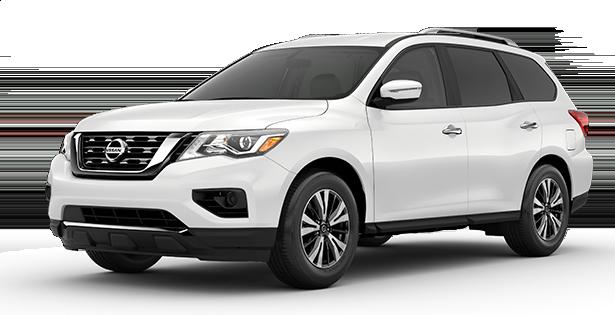 2019-Nissan-Pathfinder-S-White