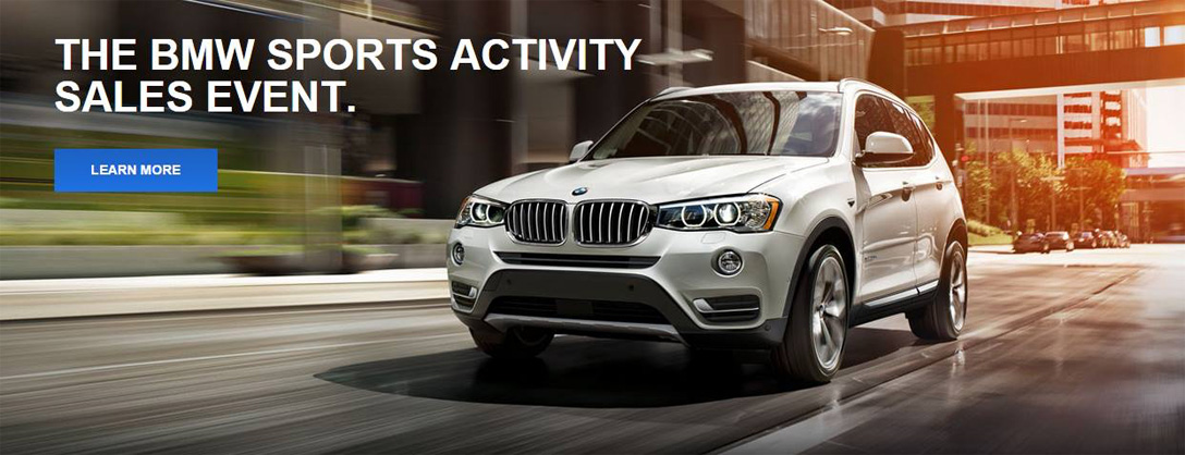 BMW Sports Activity Sales Event