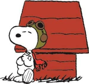 Snoopypalooza Scavenger Hunt