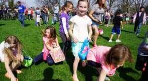 Bring Your Baskets to the Egg Hunt in Wilder Park