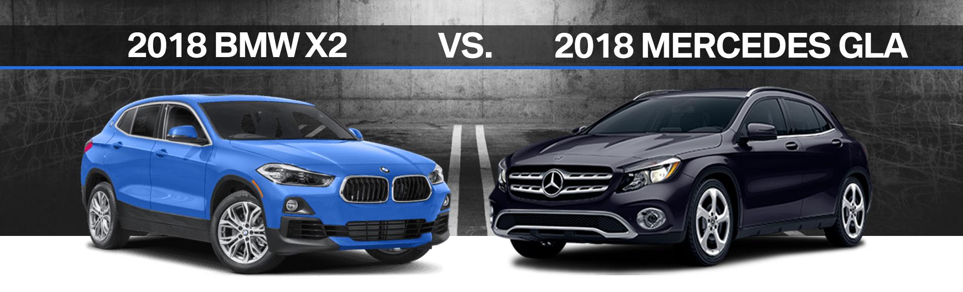 2018 Bmw X2 Vs Mercedes Gla Elmhurst Benz Fuel Filter On M2 A Comparison