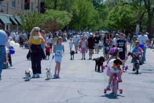 Spring Road Pet Parade