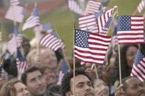 99th Annual Elmhurst Memorial Day Parade Flags