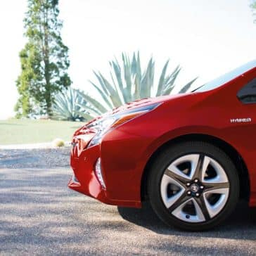 2017 Prius Four Touring Hypersonic Red Front